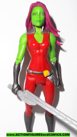 guardians of the galaxy GAMORA 5 inch 2016 marvel universe legends