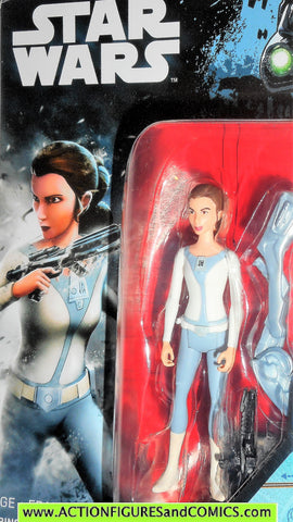star wars action figures PRINCESS LEIA rebels animated 2016 moc
