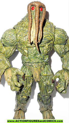 marvel legends MAN THING BAF complete build a figure hasbro 2017