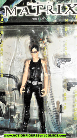 Matrix TRINITY Carrie Ann Moss 1999 N2 toys movie action figures moc