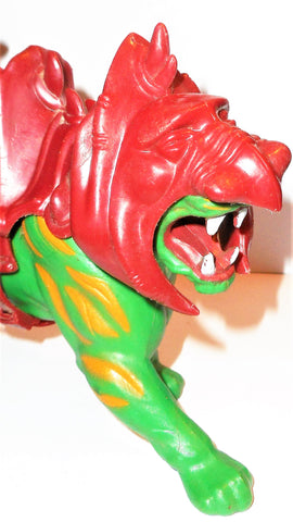 Masters of the Universe BATTLE CAT kringer 100% complete 1982 original vitnage 512