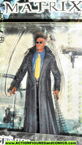 Matrix MORPHEUS 1999 N2 toys movie the film action figures moc 000