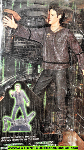 Matrix NEO revolutions reloaded 2003 Mcfarlane toys action figures moc
