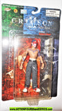 Crimson JOE the Indian 1999 RED face paint VARIANT cliffhanger moc