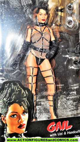 Sin City GAIL full color frank miller rosario dawson movie Neca comic moc