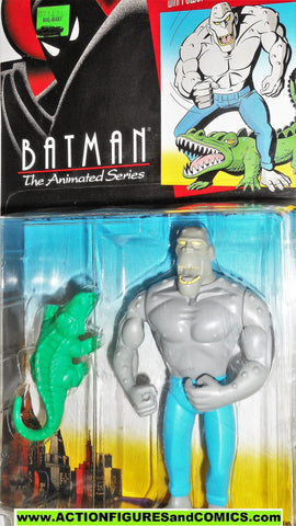BATMAN animated series KILLER CROC 1993 dc universe moc kenner