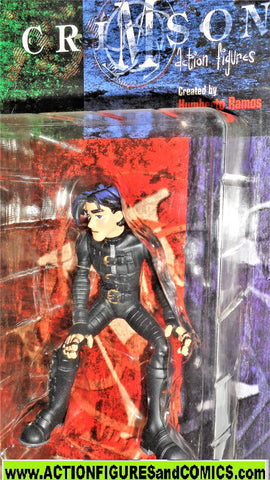 Crimson ALEX ELDER 1999 Palisades DF cliffhanger comics moc