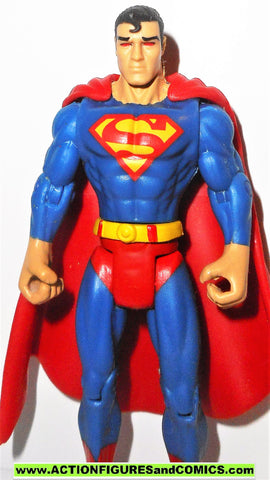 dc universe infinite heroes SUPERMAN 4 inch HEAT VISION red eyes variant