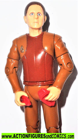 Star Trek ODO security chief 1993 playmates complete action figures