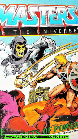 Masters of the Universe FLYING FISTS of POWER mini comic vintage he-man