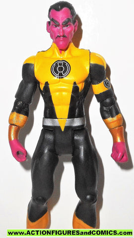 dc universe infinite heroes SINESTRO green lantern YELLOW corps