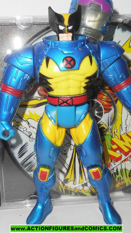 X-MEN X-Force toy biz WOLVERINE Space suit phoenix saga BLUE cd rom Marvel universe