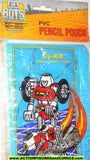 gobots CY-KILL Pvc PENCIL POUCH 1984 transformers mip mib moc