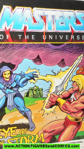 Masters of the Universe EYE of the STORM vintage mini comic He-man 000