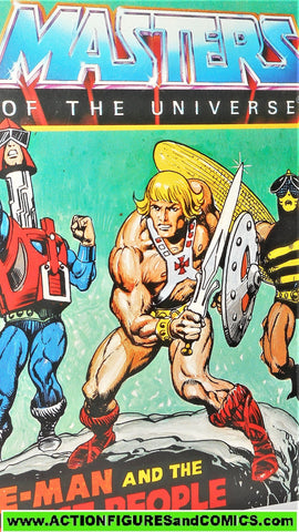 Masters of the Universe HE-MAN and the INSECT PEOPLE mini comic vintage 1983