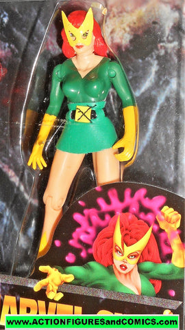 Marvel Super Heroes toybiz MARVEL GIRL jean grey GOLD series x-men moc
