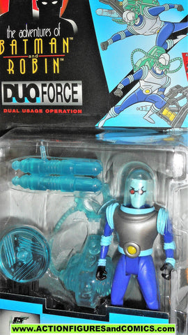 BATMAN animated series MR FREEZE DUO FORCE 1996 TAS kenner moc