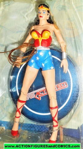 dc direct WONDER WOMAN ReActivated series 1 collectibles justice league