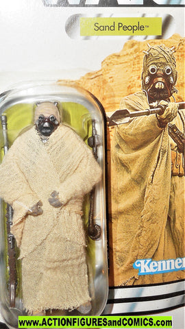 Star wars action figures SAND PEOPLE tusken raider saga collection 2007 moc