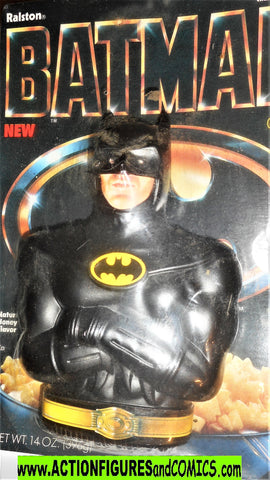 Batman cereal Ralston BATMAN 1989 still SEALED michael keaton movie moc