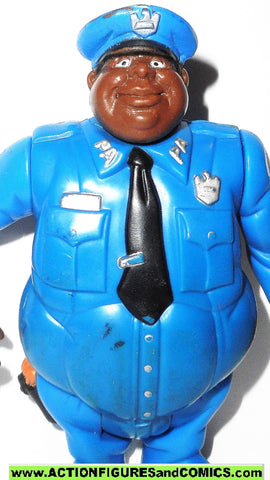 Police academy action figures HOUSE snack attack 1988 1989 cops kenner toy