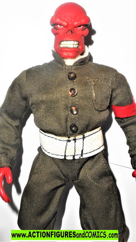 Marvel Famous Covers RED SKULL captain america 9 inch toybiz