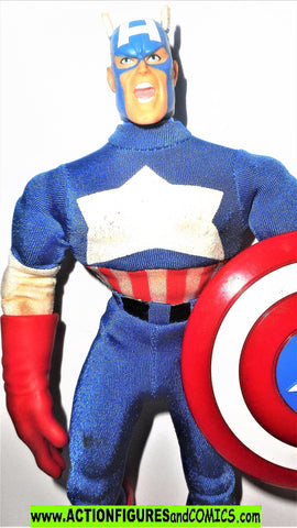 Marvel Famous Covers CAPTAIN AMERICA 9 inch toybiz mego retro