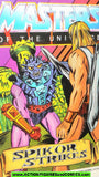 Masters of the Universe SPIKOR STRIKES 1984 vintage mini comic He-man