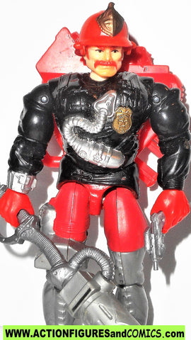 Cops 'n Crooks INFERNO fire fighter 1988 complete vintage hasbro c.o.p.s.