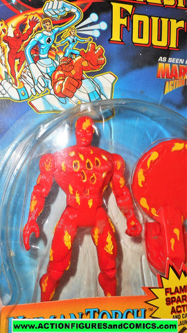 Fantastic Four HUMAN TORCH 1995 marvel animated series action hour moc 000