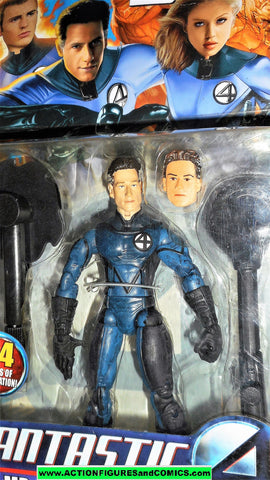 Fantastic Four MR FANTASTIC shape shifting movie 2005 marvel legends moc