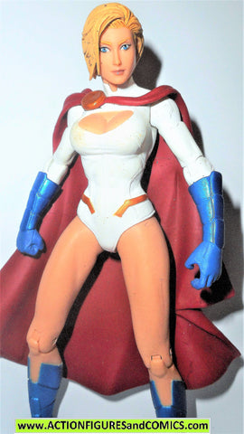 dc direct POWERGIRL New 52 World's Finest collectibles 2014 superman fig