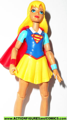 DC super hero girls SUPERGIRL 6 inch superman dc universe walmart yellow