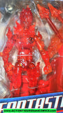 Fantastic Four HUMAN TORCH flying movie 2005 marvel legends moc