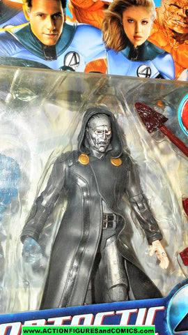 Fantastic Four DR DOOM electric power movie 2005 marvel legends moc