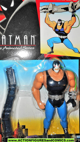BATMAN animated series BANE 1994 blue back TAS btas dc universe moc