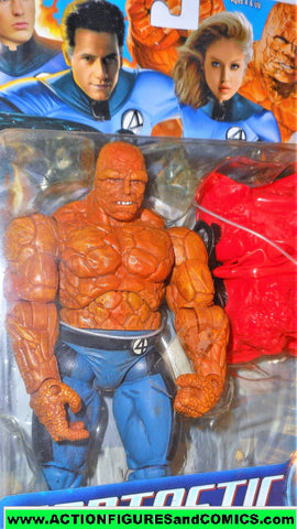 Fantastic Four CLOBBER N CRUSH THING movie 2005 marvel legends moc 000