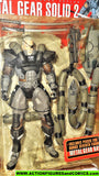 Metal Gear Solid 2 SOLIDUS SNAKE mcfarlane toys action figures 2001 moc