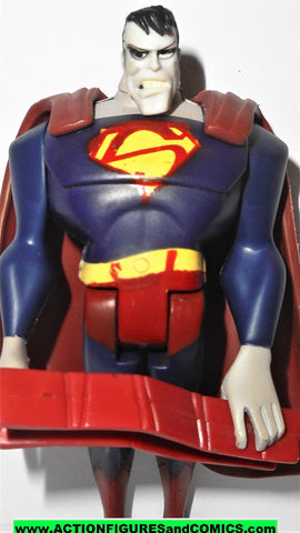 justice league unlimited BIZARRO superman w BEEM BAR V4 dc universe action figure