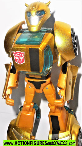 transformers animated BUMBLEBEE Gold Chrome TA-02 japan