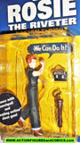 Accoutrements ROSIE the RIVETER Outfiters of Popular Culture action figures moc