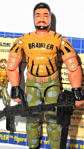 gi joe BIG BRAWLER 2003 V2 tiger force spytroops toys r us exclusive tru