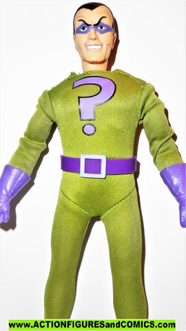 dc super heroes retro action RIDDLER friends powers Batman universe