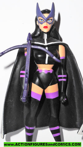 justice league unlimited HUNTRESS with CROSSBOW batman animated