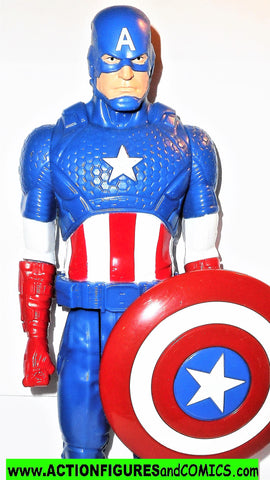 Marvel Titan Hero CAPTAIN AMERICA avengers 12 inch movie universe
