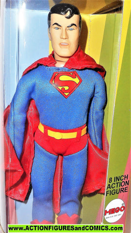 "dc super heroes retro action SUPERMAN 8"" powers friends universe mib moc"