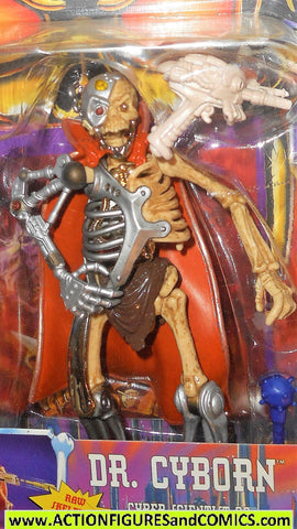 Skeleton Warriors DR CYBORN 1994 Playmates toys action figure moc