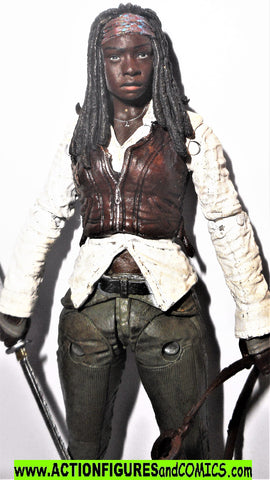 The Walking Dead MICHONNE series 7 mcfarlane toys action figures