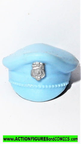 Cops 'n Crooks TASER police hat cap 1988 vintage hasbro figure part
