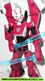 transformers animated ARCEE hasbro toys action figures complete deluxe